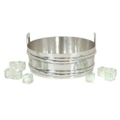 Tiffany & Co. Sterling Stave Tub Motif Ice Bucket