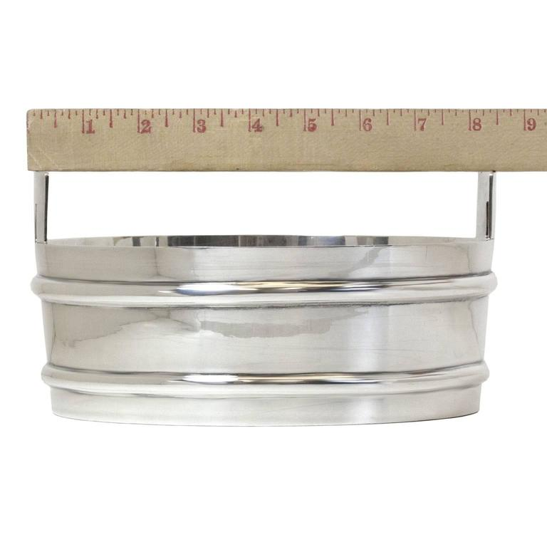 Mid-20th Century Tiffany & Co. Sterling Stave Tub Ice Bucket For Sale