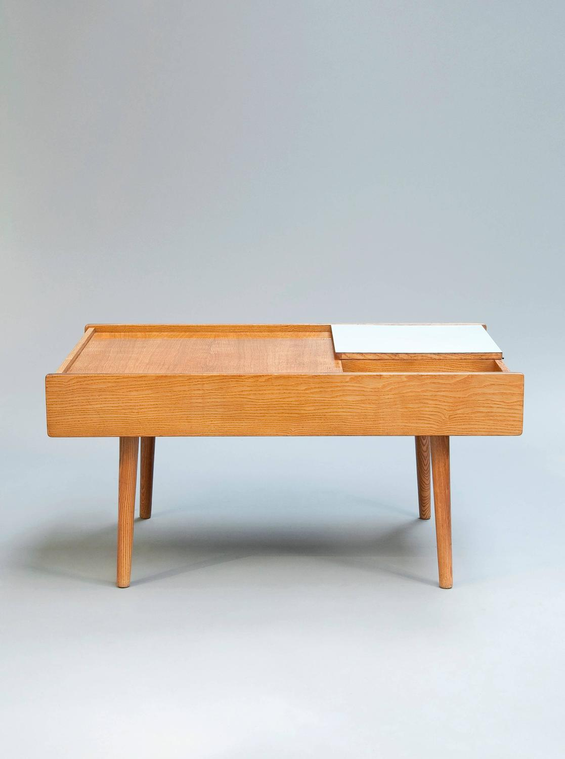 Low table 119 by pierre paulin meubles tv edition 1953 - Red edition table basse ...