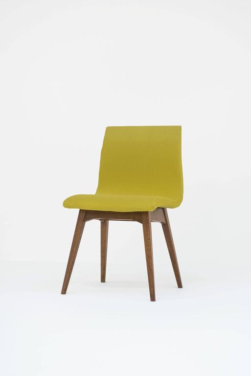 Set of Six Chairs C59 by René Jean Caillette, Charron Edition, 1960 7