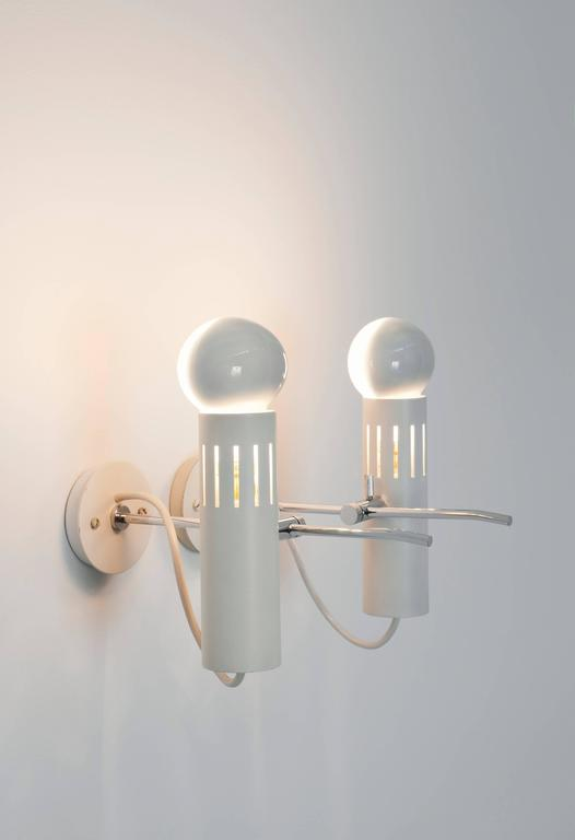 Pair of Sconces A5 by Alain Richard, Pierre Disderot Edition, 1958 4