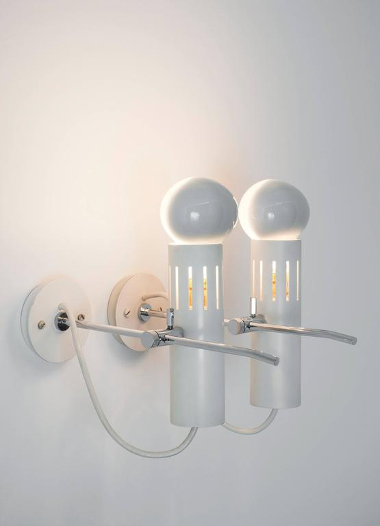 Pair of Sconces A5 by Alain Richard, Pierre Disderot Edition, 1958 5
