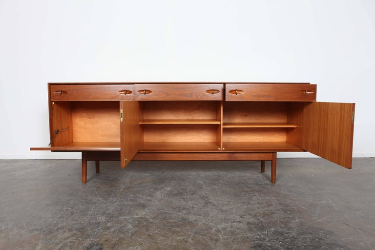 Four Drawer Teak Sidboard By Dalescraft Furniture Co Of Yorkshire