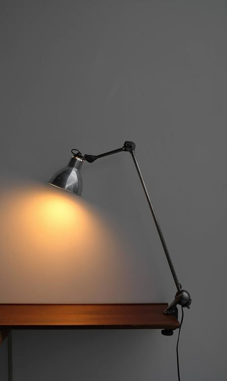 Lampe Gras No. 201 Table Lamp, France circa 1930  For Sale 1