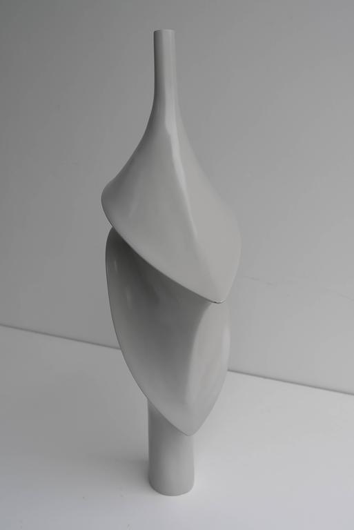 Mid-20th Century Large Elegant Polyester Sculpture, 1960s For Sale