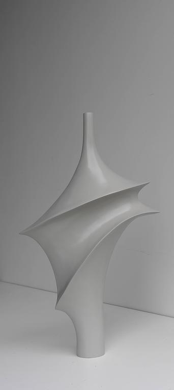 Mid-Century Modern Large Elegant Polyester Sculpture, 1960s For Sale