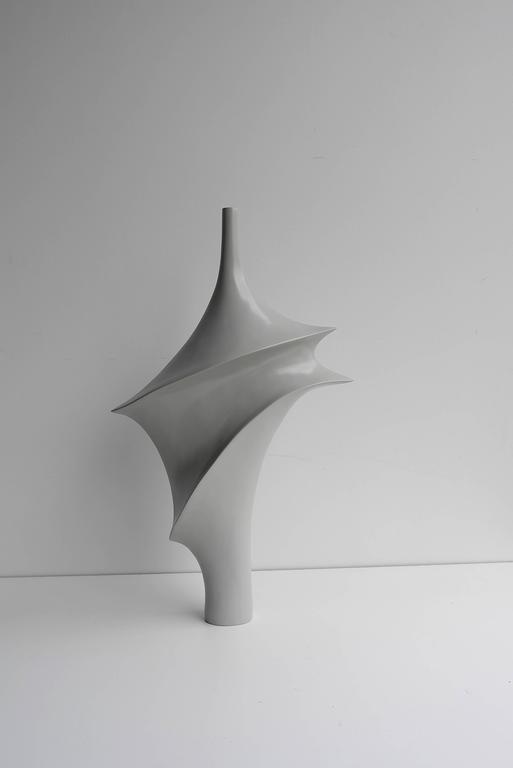 Fiberglass Large Elegant Polyester Sculpture, 1960s For Sale