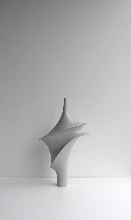 Large Elegant Polyester Sculpture, 1960s For Sale 1