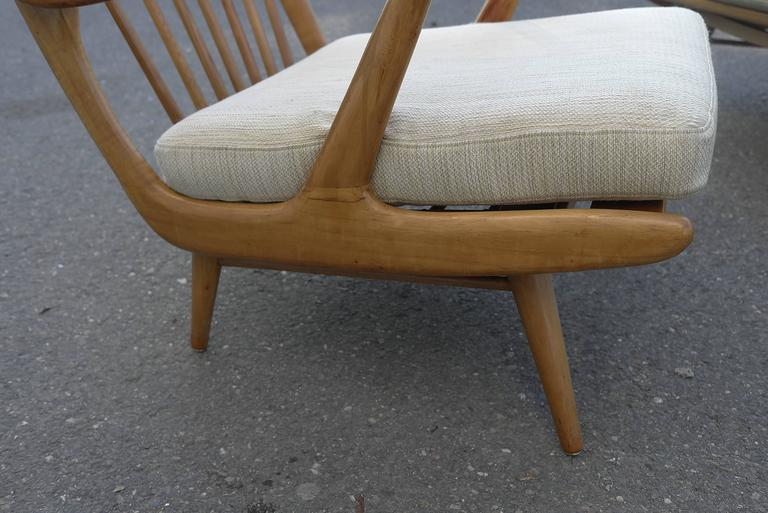 Organic Carlo Mollino Style Sofa with Armchair For Sale 1