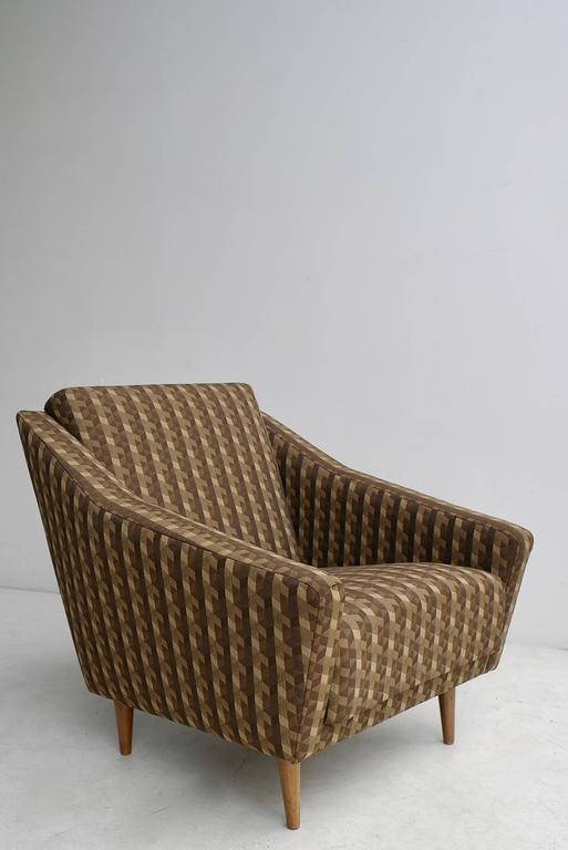 20th Century Italian 1950s Armchair in Style of Gio Ponti For Sale