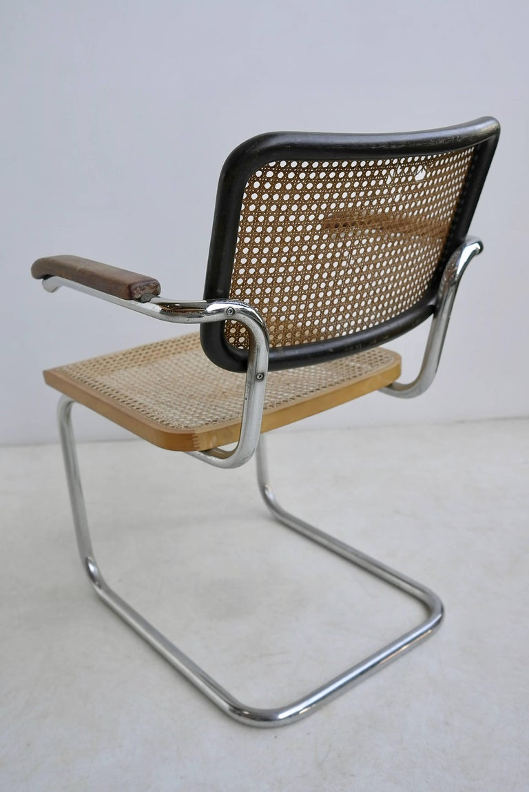 Marcel Breuer S64 Chairs by Thonet Early Editions In Good Condition For Sale In The Hague, NL
