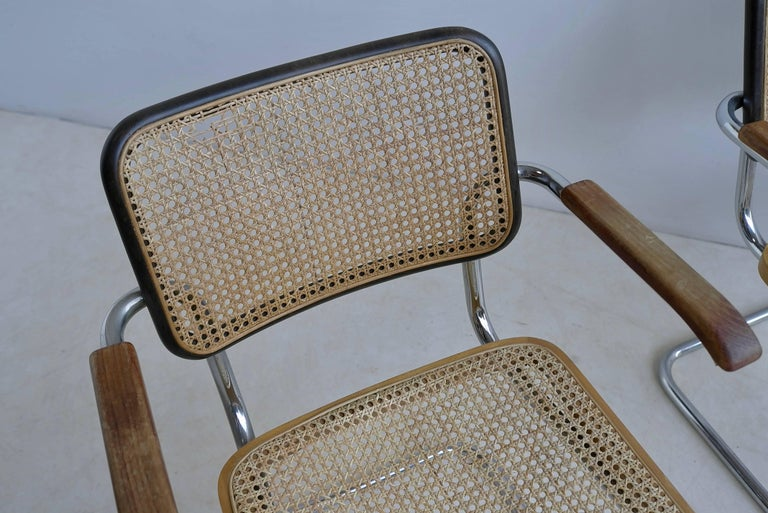 Marcel Breuer S64 Chairs by Thonet Early Editions For Sale 1