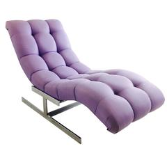 Milo Baughman Chaise Lounge