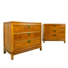 Pair of Tamerlane Bachelor Chest by Thomasville