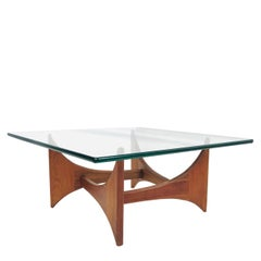 Walnut Adrian Pearsall Sculptural Coffee Table