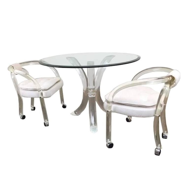 single lucite chair by charles hollis jones at 1stdibs