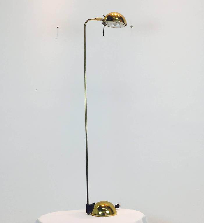 Brass floor lamp by robert sonneman for george kovacs for sale at mid century modern brass floor lamp by robert sonneman for george kovacs for sale aloadofball Image collections
