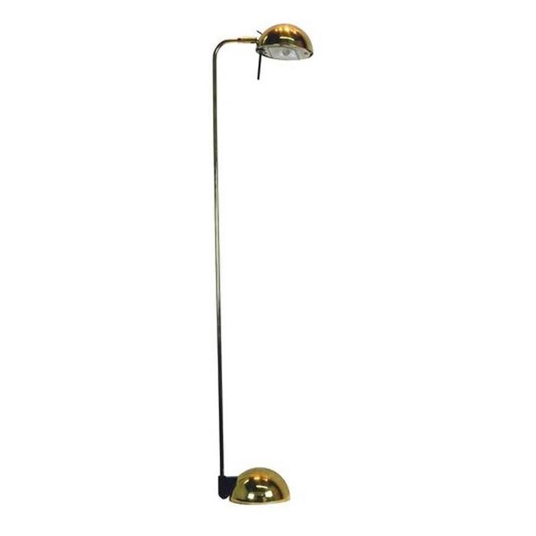 Brass Floor Lamp by Robert Sonneman for George Kovacs