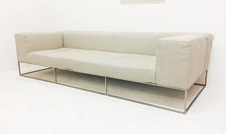 Ile Club Sofa by Piero Lissoni for Living Divani at 1stdibs
