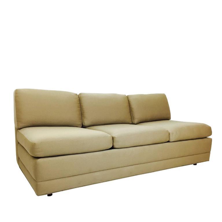 Slipper Sofa by Martin Brattrud