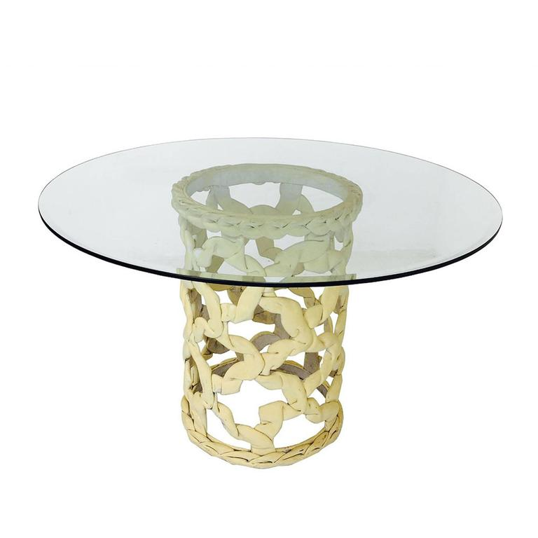 """Ribbon"" Dining Table by Tony Duquette"