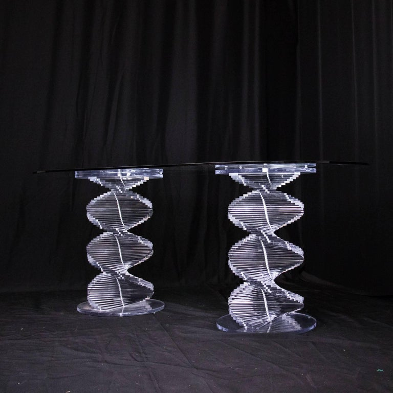 Lucite Table Legs And Bases