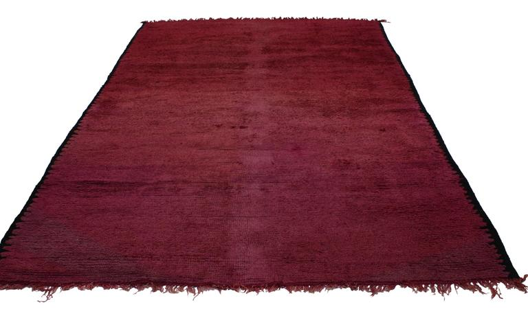 Bohemian Vintage Berber Moroccan Rug with Boho Chic Style For Sale