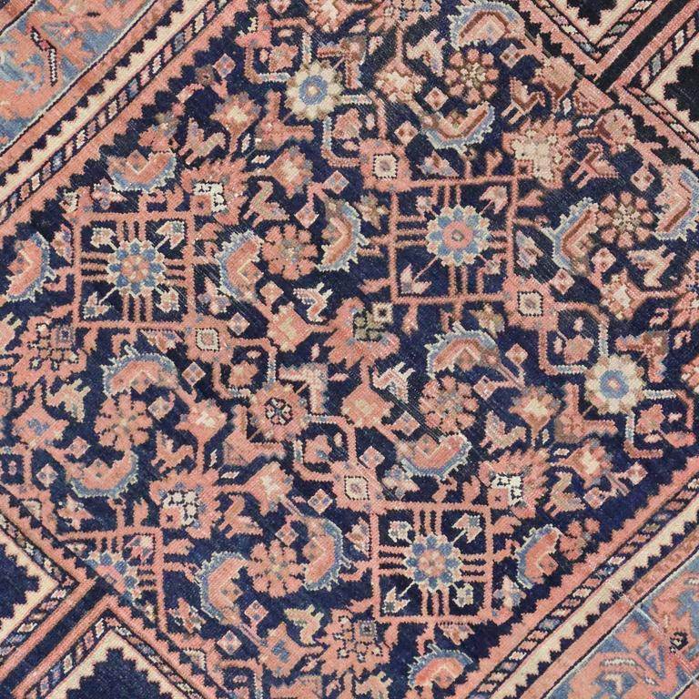 Providing An Element Of Comfort, Artistic Statement And Functional  Versatility, This Antique Persian Malayer