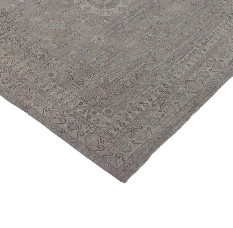 Transitional Rug With Modern Style In Muted Colors For