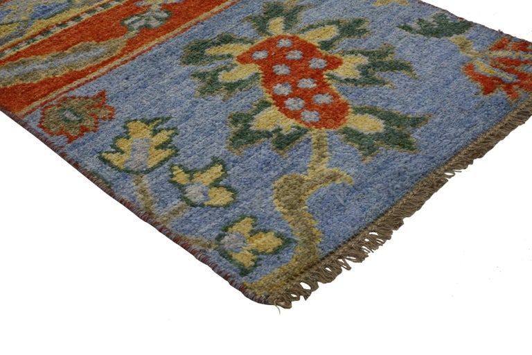 Foyer Rugs For Sale : New contemporary oushak style accent rug entry or foyer