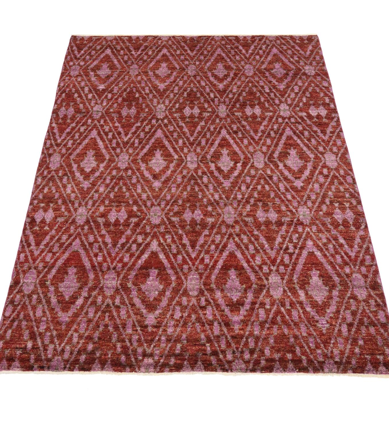 Contemporary moroccan area rug with modern design for sale for Modern area rugs for sale