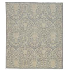 New Transitional Area Rug with Hampton's Chic and Neutral Nautical Style