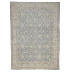 New Khotan Rug with Transitional Style with Warm, Neutral Colors