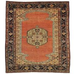 Antique Persian Bakshaish Rug with Modern Northwest Style