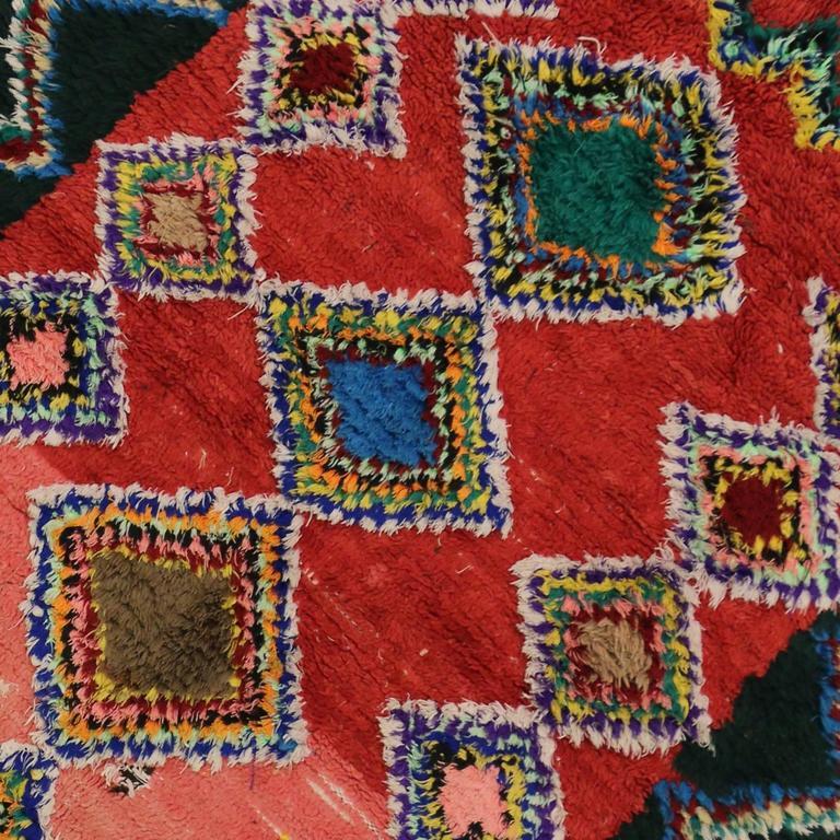 Boho Chic Vintage Berber Moroccan Rug with Modern Tribal Design 4
