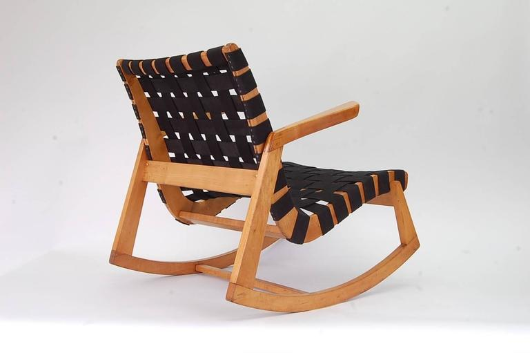 Rare Ralph Rapson Rocking Chair For Knoll For Sale At 1stdibs