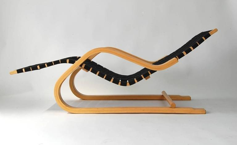 Alvar Aalto Model 43 Chaise Lounge At 1stdibs