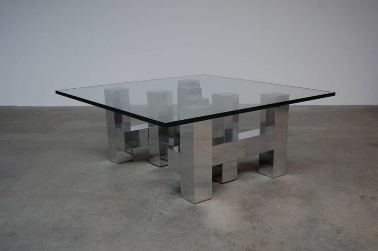 Prime Large Architectural Coffee Table By Paul Mayen Machost Co Dining Chair Design Ideas Machostcouk