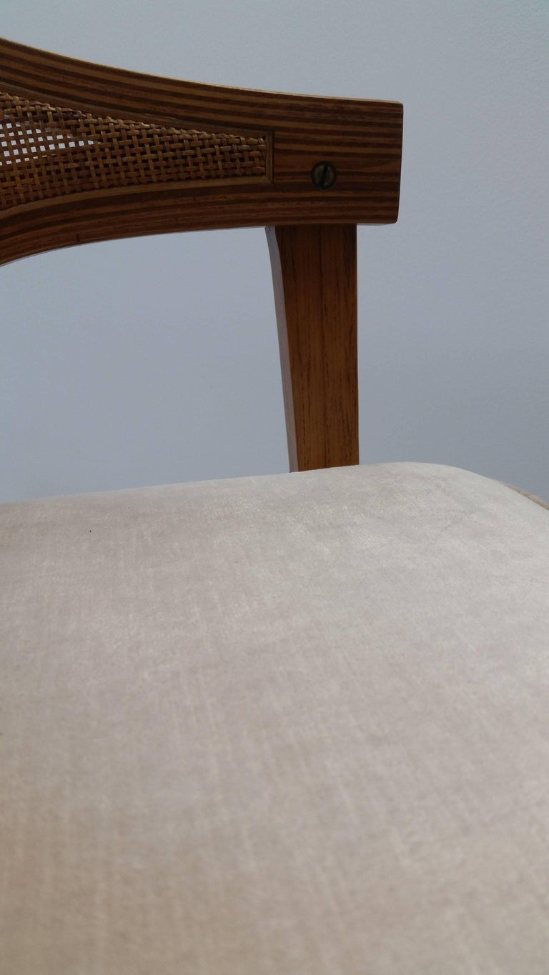 Pair of Dunbar Chair In Good Condition For Sale In Providence, RI