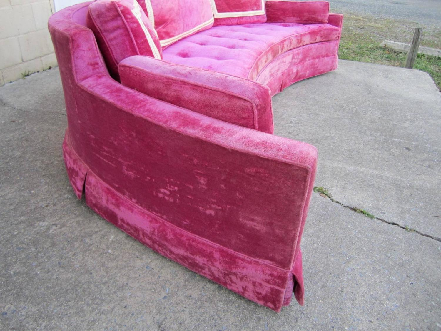 28 pink sofas for sale vintage danish pink sofa for sale at
