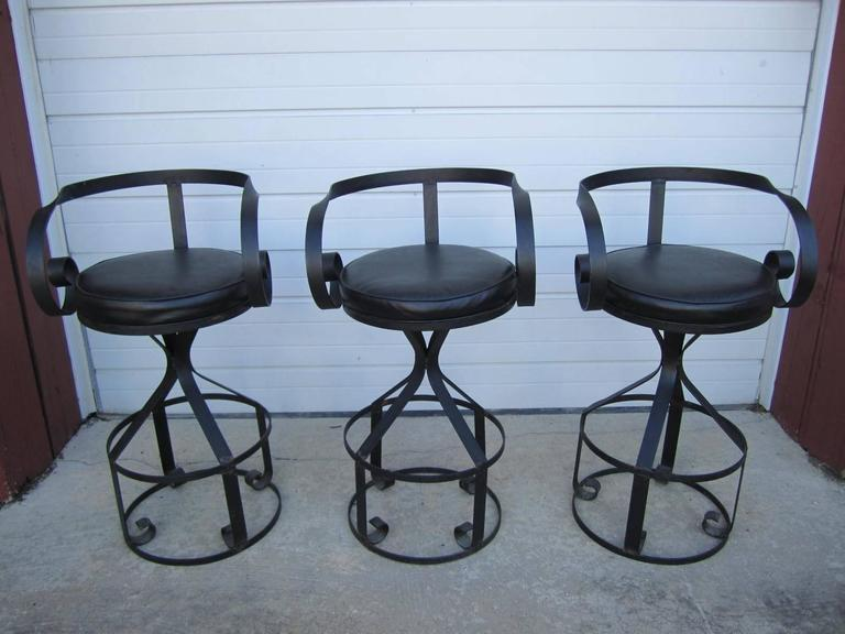 Rare Set Of Five George Mulhauser Sultana Style Iron