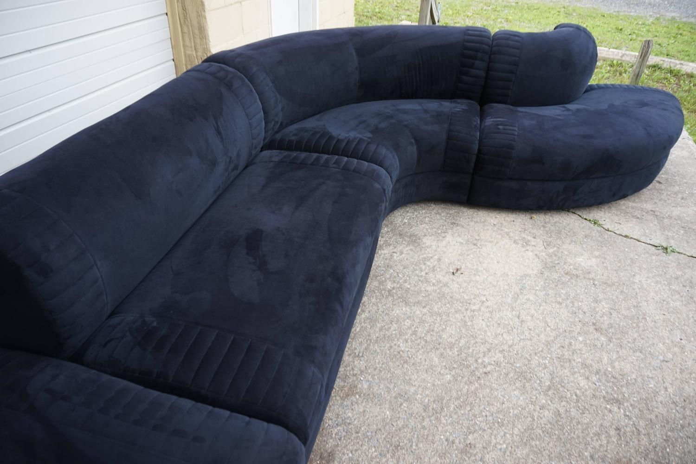 vladimir kagan weiman sofa sectional mid century modern at 1stdibs