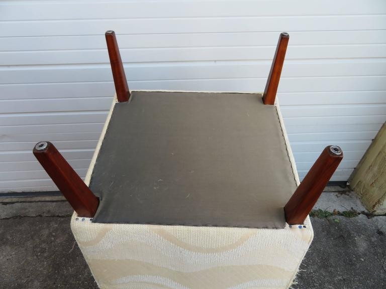 Pair of Slipper Lounge Chairs Mid-Century Modern For Sale 3