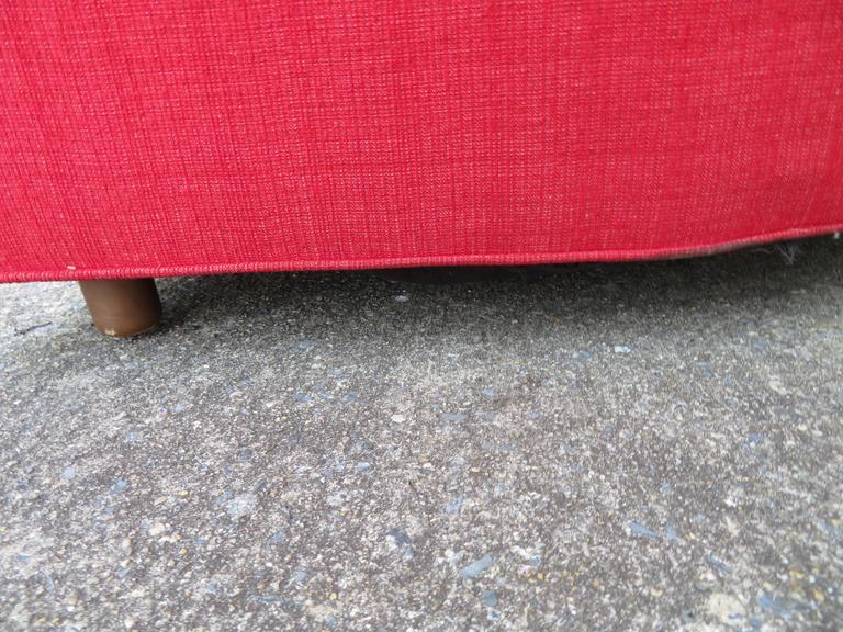 Mid-20th Century Magnificent Adrian Pearsall Long Curved Sofa Mid-Century Modern For Sale