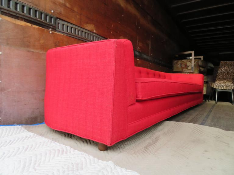 Magnificent Adrian Pearsall Long Curved Sofa Mid-Century Modern For Sale 3
