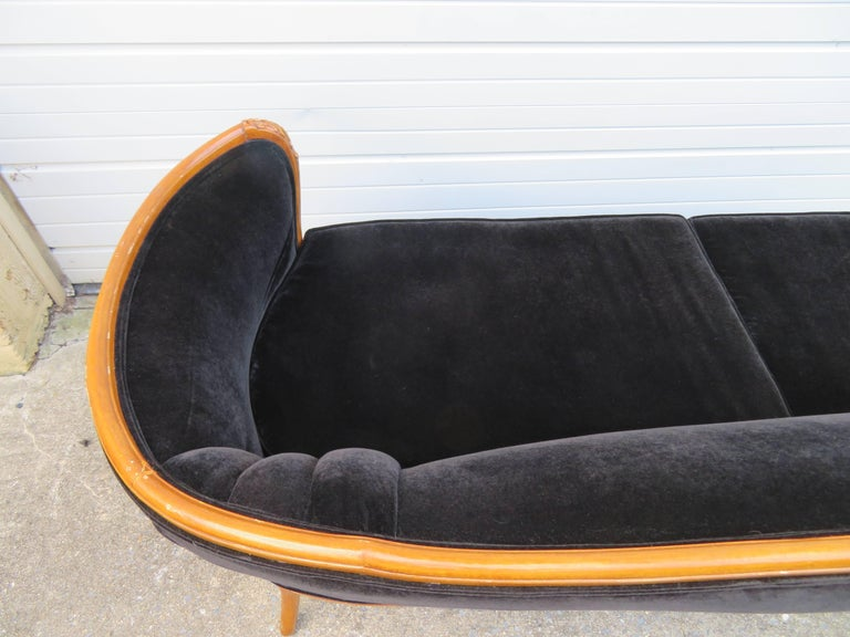 Antique Louis XV Style French Sofa Canapé For Sale 2