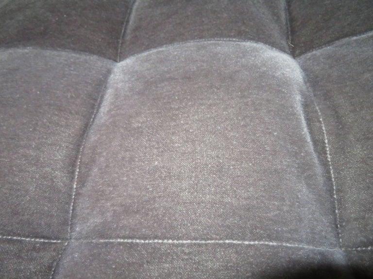 Upholstery Stunning Vladimir Kagan Three-Piece Omnibus Sectional Sofa Coffee Table For Sale