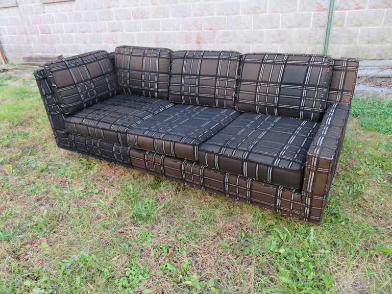 Stunning Signed Harvey Probber Two-Piece Sectional Sofa Mid-Century Modern For Sale 2