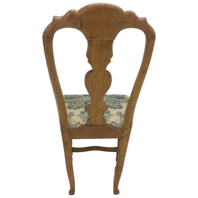 Pair of Danish Rococo Dining Room Chairs For Sale 1