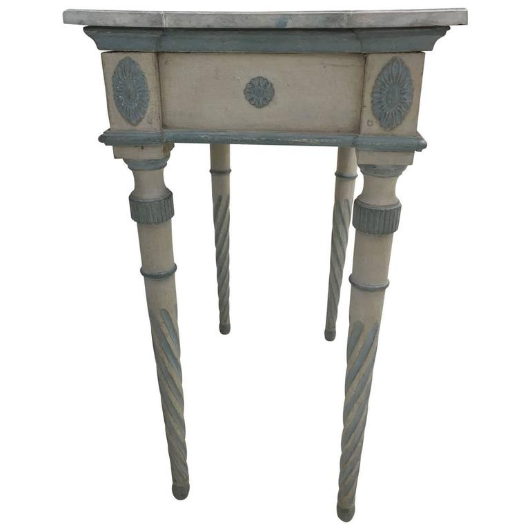 Early 19th Century Gustavian Console For Sale 1